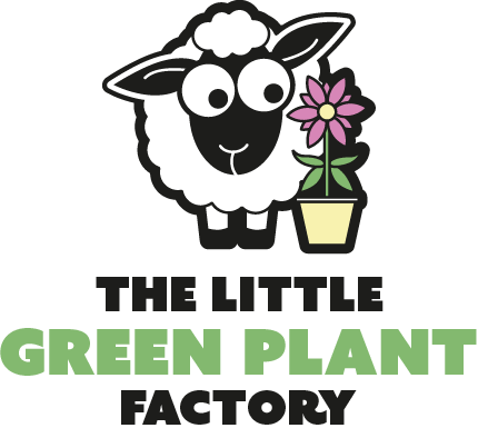 The little green plant factory logo
