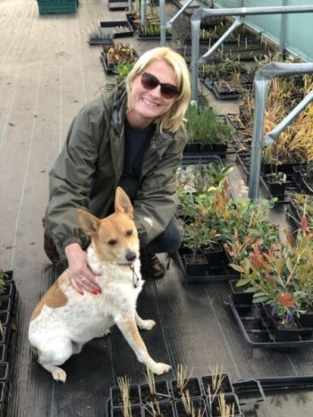 The Little Green Plant Factory owner Claire Jaram